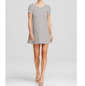 Olivaceous Stripe Dress
